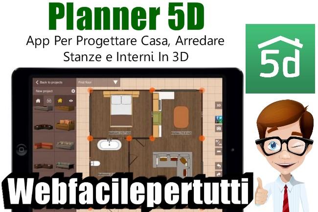 Planner 5d applicazione per progettare casa arredare for Progettare casa 3d