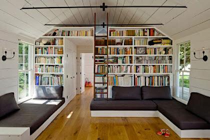 13 Desain Perpustakaan Rumah ini Bikin Kamu Makin Betah di Rumah