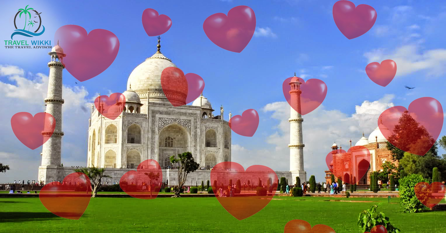 Agra in Valentines Day