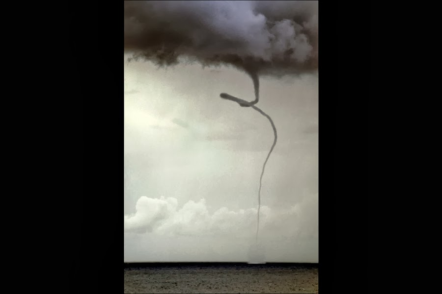 Waterspout, Balearic Islands, Spain
