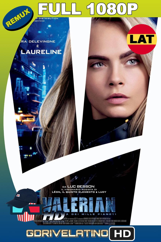 Valerian y la Ciudad de los Mil Planetas (2017) BDRemux 1080p Latino-Ingles MKV