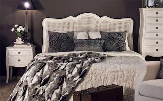 dormitorio completo color blanco decape