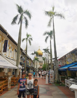 Mezquita del Sultán o Majid Sultan. Barrio Árabe, Arab Quarter o Kampong Glam. Singapur, Singapore.