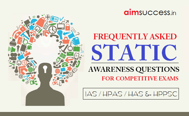 GK/ Current Affairs Question Answer Quiz for HP Allied Exam