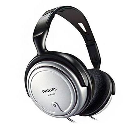 Fone de ouvido estéreo SHP2500 com conchas amplas