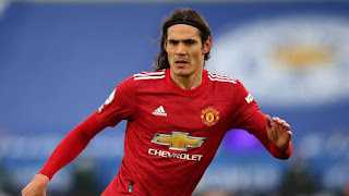 Manchester United set date for cavani's future talk at Old Trafford