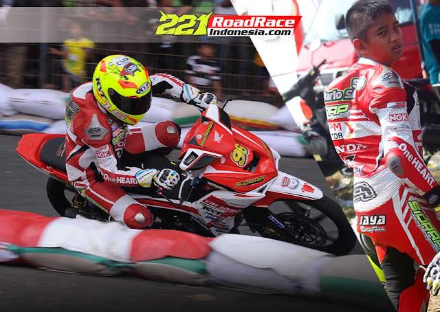 Hasil Honda Dream Cup Cimahi, Rider Belia Mario SA Sukses Podium Teratas Dua Kelas