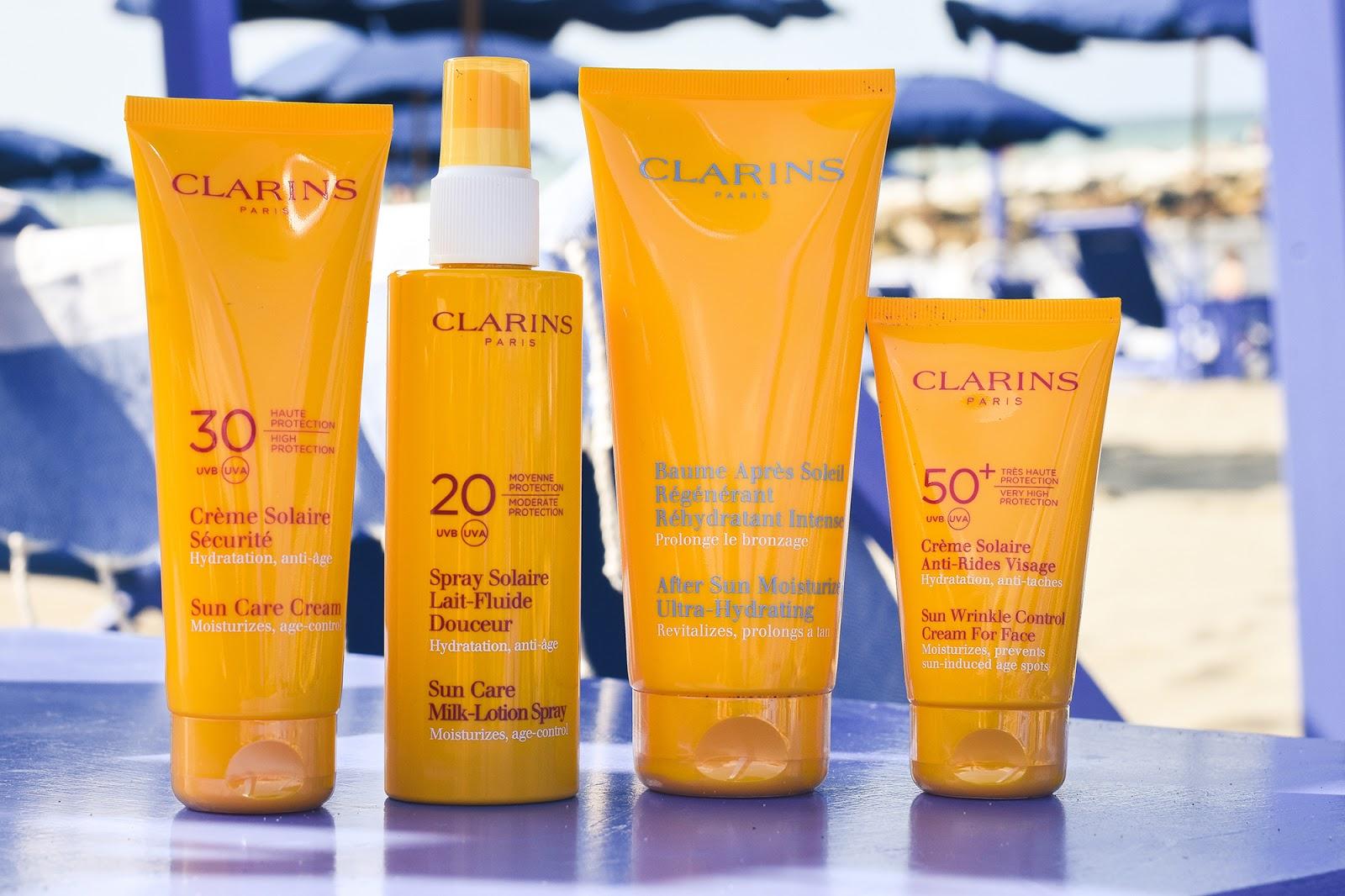 protezione solare clarins