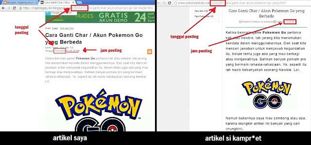 konten original versus cloning blog situs web