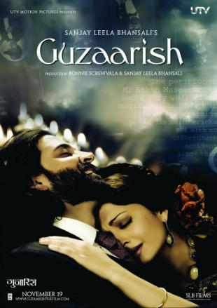 Guzaarish 2010 Full Hindi Movie Download DVDRip 720p
