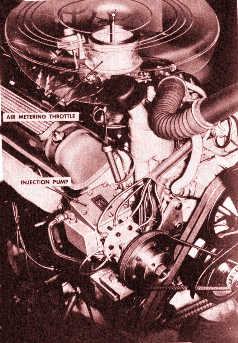 As installed on a V8 engine, the Schebler set up is a timed fuel injection  system of some complexity. It is unknown if any car manufacturer used it as  ...