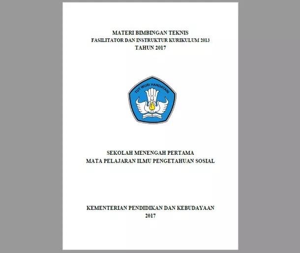 Materi BIMTEK Kurikulum 2013 IPS SMP 2017
