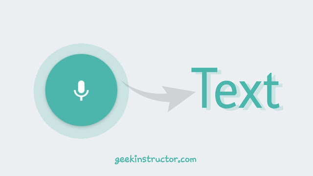 Type text with your voice on Android/iPhone