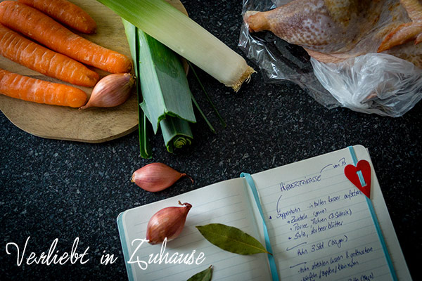 Blog Dinner Klassiker aus meiner Kindheit: selbstgemachtes Hühnerfrikassee nach Papas Rezept mit Reis