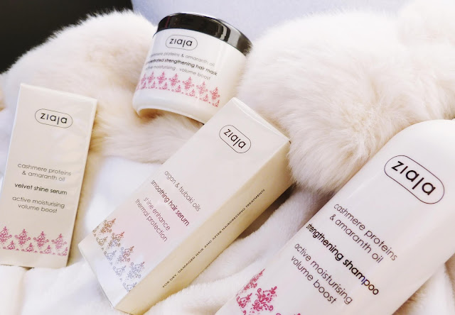 ziaja cashmere produktovy rad sampon maska serum kozmetika