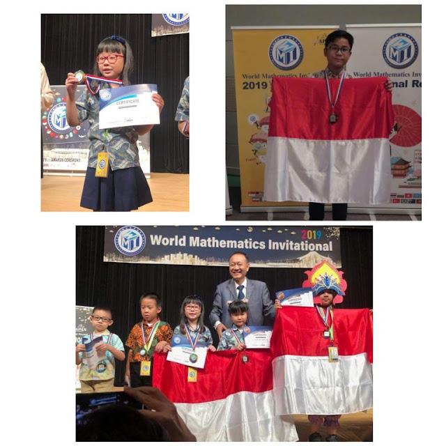Luar Biasa! 3 Pelajar Harumkan Sulut di Ajang World Mathematics Invitational (WMI) 2019, Jepang