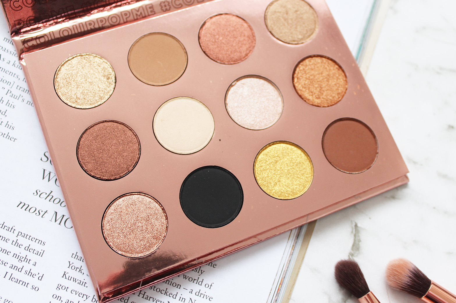 COLOURPOP | I Think I Love You Pressed Shadow Palette - Review + Swatches - CassandraMyee