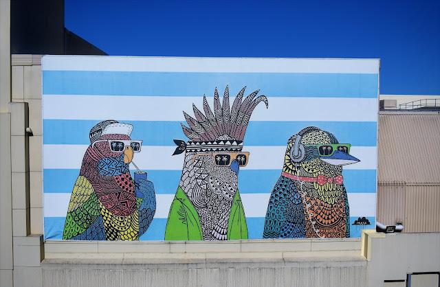 Ultimo Street Art   Mulga