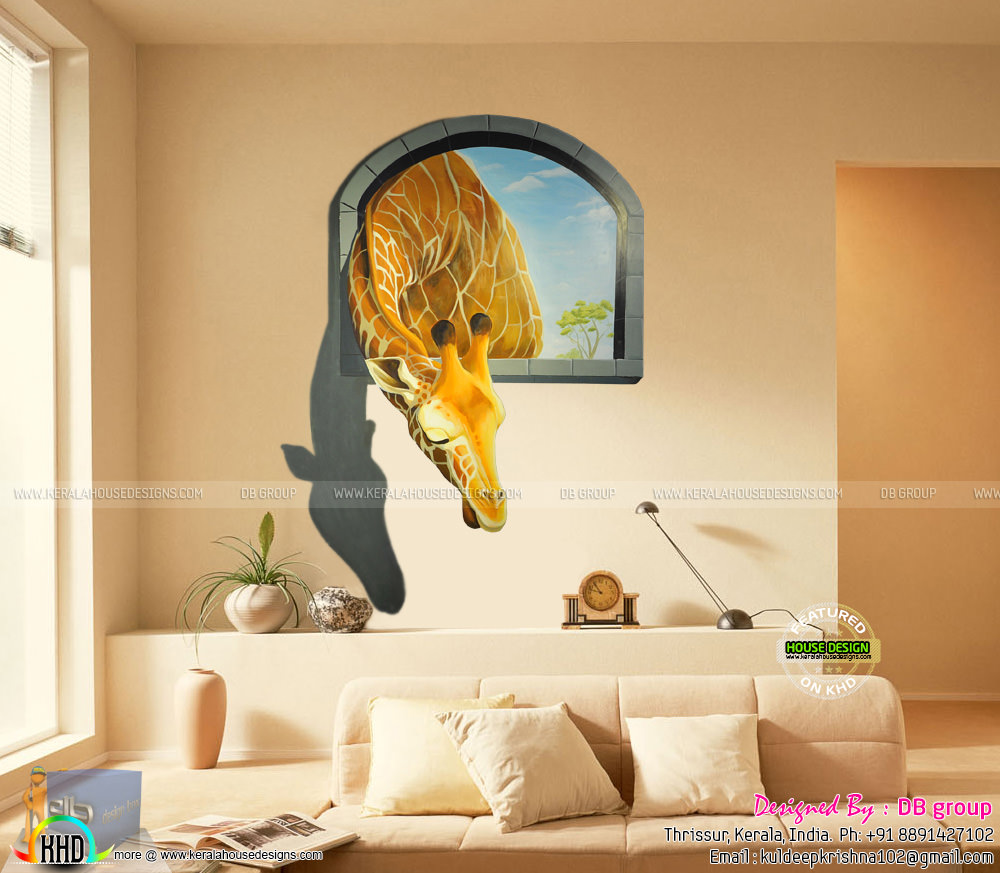 3d Wall Decor In Kerala Kerala Home Design And Floor Plans