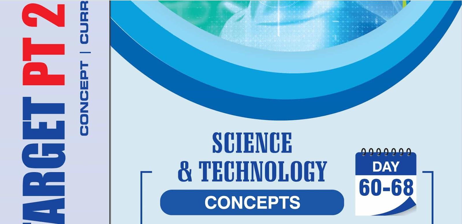 GS Score Science Tech Concept Topics UPSC IAS Target 2020