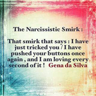 Why narcissists smirk