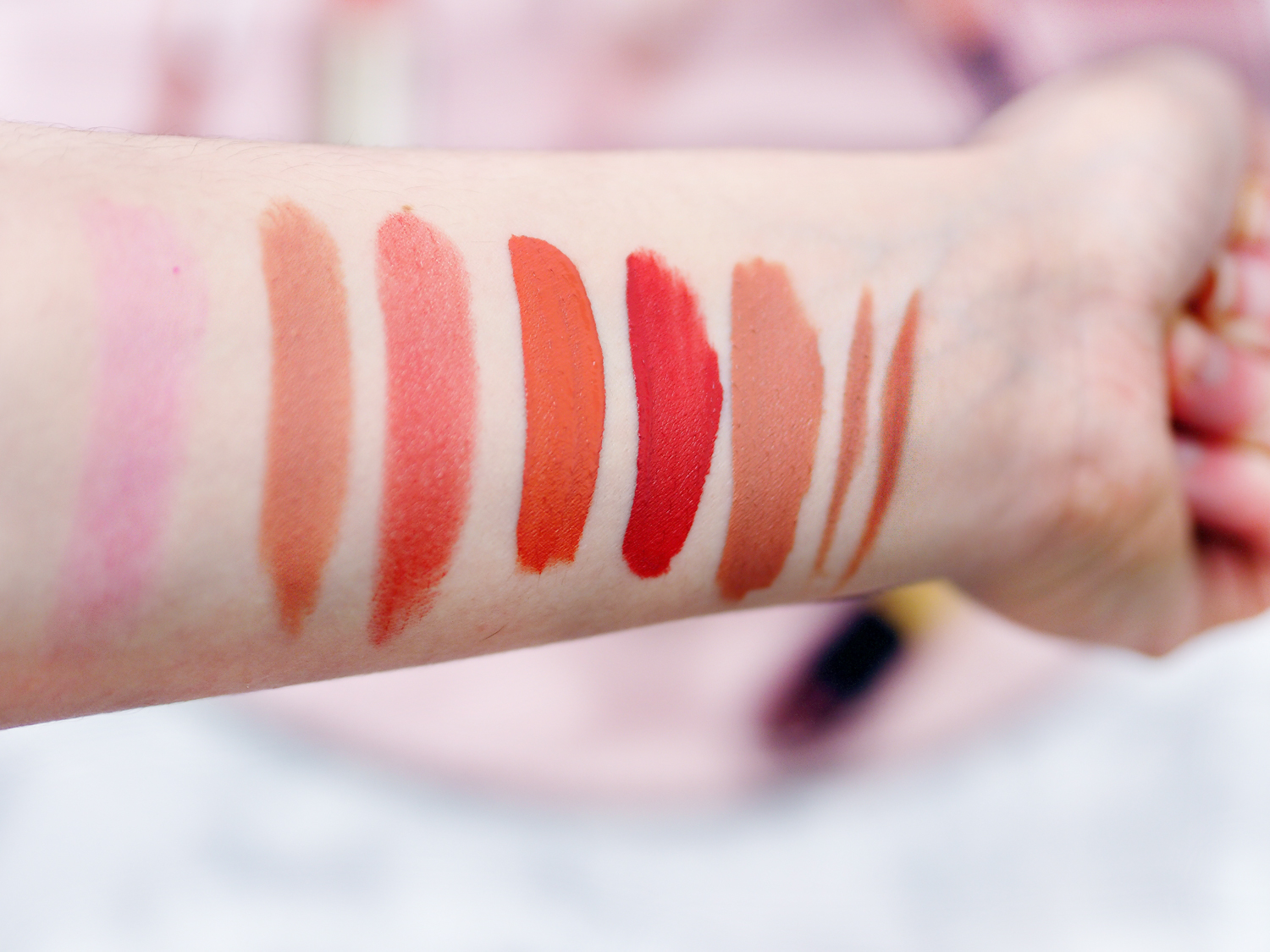 autumn winter lipstick edit swatches