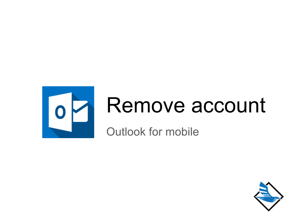 outlook how to delete account