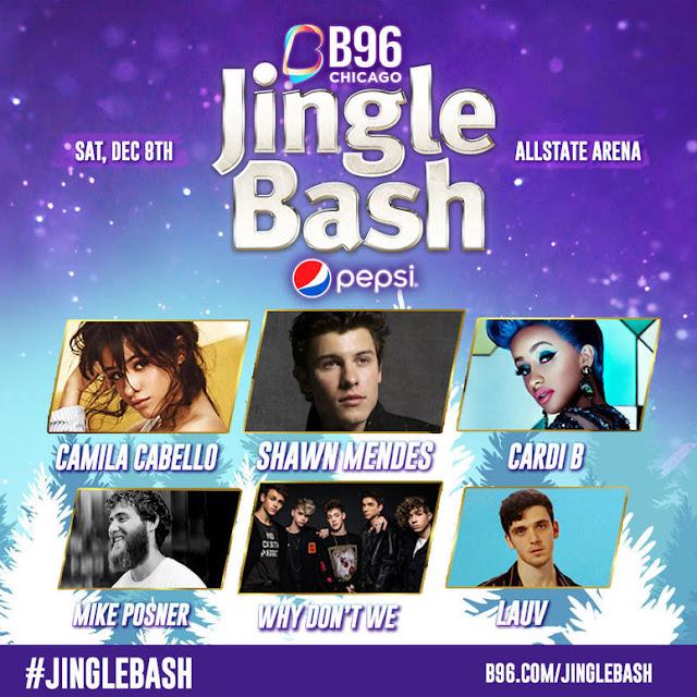 B96 Chicago Radio announces Pepsi Jingle Bash 2018