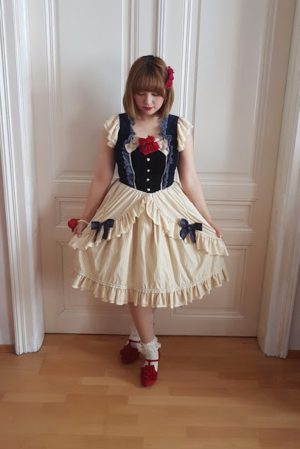 Infanta, snow white, disney, lolita fashion, auris lothol, jsk, kawaii, pastel, japanese fashion