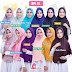 Jilbab Miulan Serut Jumbo Bergo Plain Laura BPL XL Hijab Instan Polos Terbaru