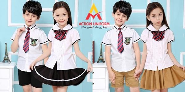 Mẫu đồng phục tiểu học 22