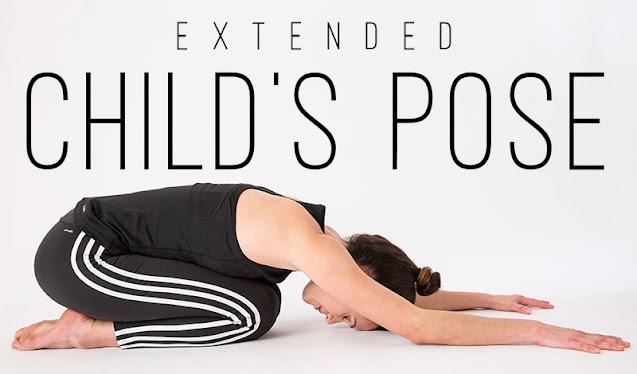 Tứ thế trẻ em ( Bài tập yoga Balasna )