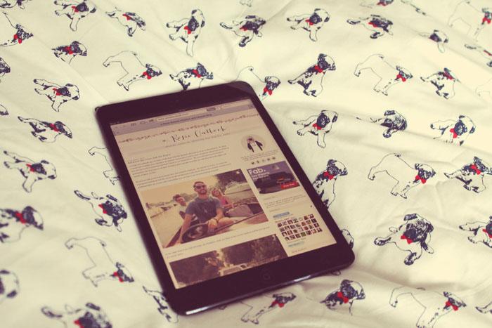 ipad mini for blogging