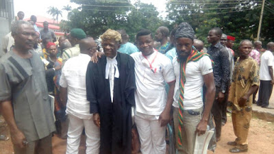 Biafra: Jubilation as Nnamdi Kanu secures the release of Innocent Orji, others abandoned by Uwazuruike in 2007 [PHOTOS]