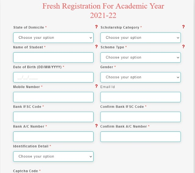 National Scholarship Apply Online for 2021-22 - How to Apply Scholarship Online in 2021-22