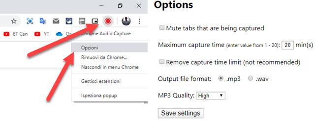 addon chrome audio capture