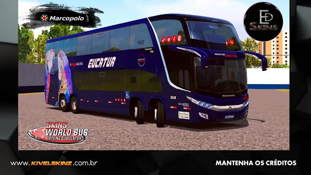PARADISO G7 1800 DD 8X2 - VIAÇÃO EUCATUR ARARAS