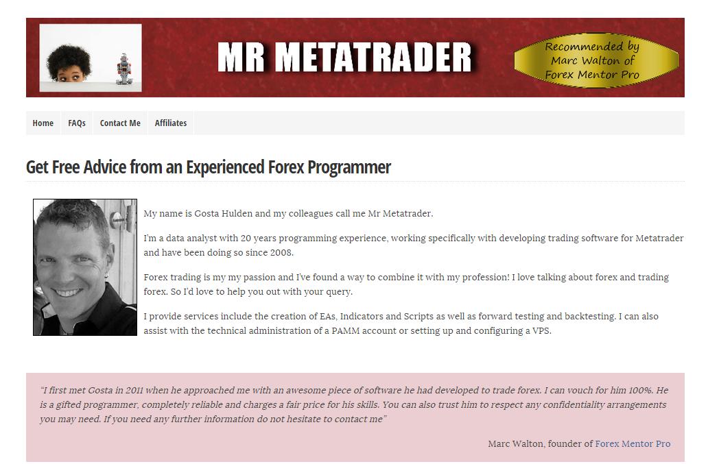 Mr forex