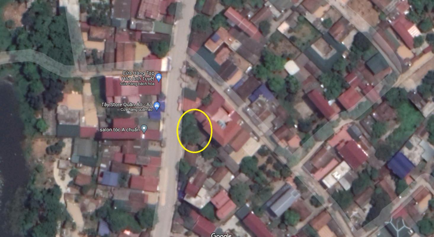 Vị trí mảnh đất ngay mặt đường trục chính