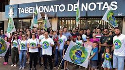 Partido de Bolsonaro bate 80.000 assinaturas; deve atingir meta em 18 de janeiro