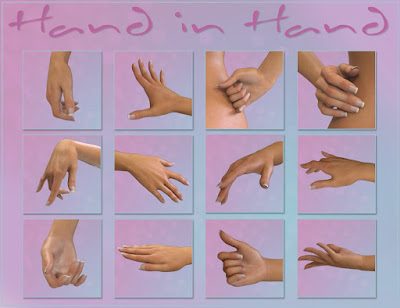 Hand in Hand Poses for Genesis 3 Female