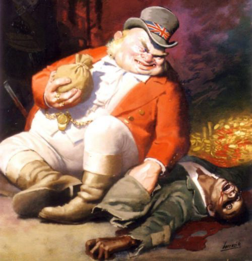 British Empire imperialism neofeudalism London war parasitism Fabianism Round Table