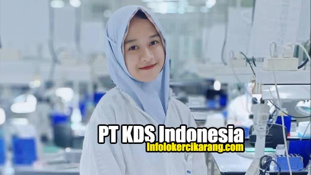 Lowongan Kerja PT KDS Indonesia (Daishinku Corp) 2020
