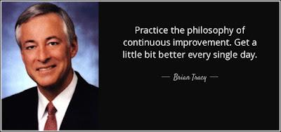 Practice Makes Improvement Quote