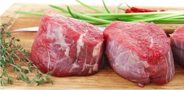 اللحوم التي تحتوي على نسبة عالية من الكولسترول