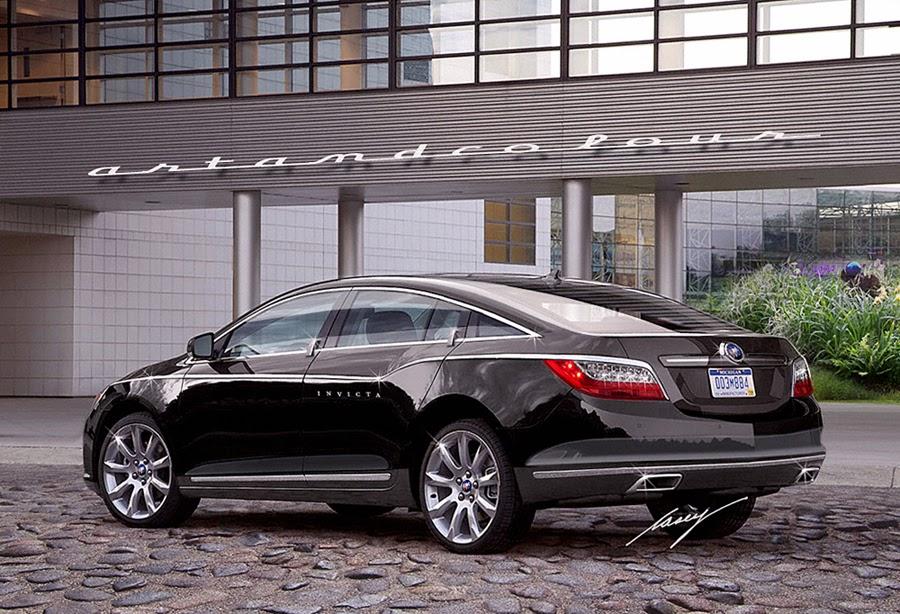 casey/artandcolour/cars: Buick Invicta: LaCrosse-based 4 ...