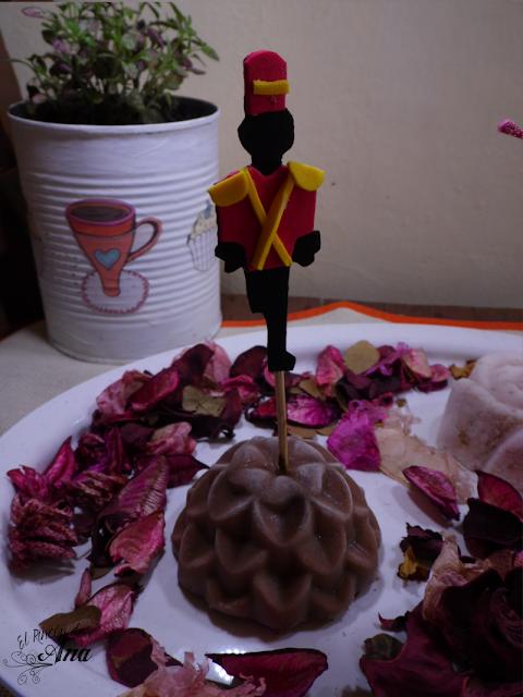 Mousse de fresa o chocolate para El Soldadito de Plomo
