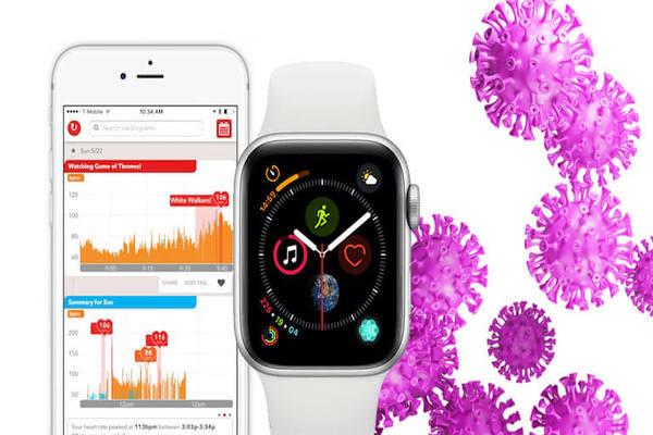 دراسات: ساعة آبل واتش قد تكون قادرة على الكشف عن كوفيد 19