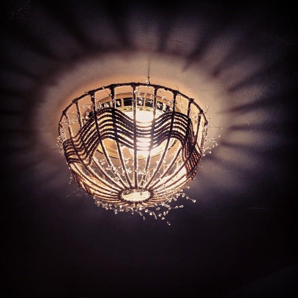 ceiling lamp DIY
