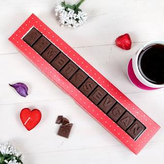 ismine özel çikolata